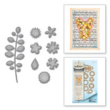 Shapeabilities Bitty Posies Etched Dies Happy Grams #4 Collection by Tammy Tutterow