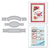 Shapeabilities Vintage Pierced Banners Etched Dies Chantilly Paper Lace Collection by Becca Feeken