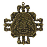 A Gilded Life Family Crest - Bronze Pendants