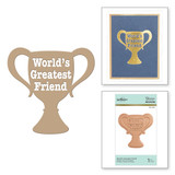 World's Greatest Friend Glimmer Hot Foil Plate