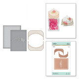 Place Card/Mini Topper Glorious Glimmer Hot Foil Classic Plates by Becca Feeken