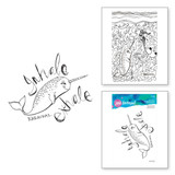 Relaxed Narwhal Clear Stamp Artomology Collection by Jane Davenport