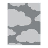 Above the Clouds Embossing Folder
