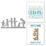 Shapeabilities Little Boys at Play Etched Dies Little Loves by Sharyn Sowell