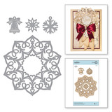 Shapeabilities Charming Snowflake Doily Etched Dies A Charming Christmas Collection by Becca Feeken