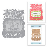 Shapeabilities With Love Etched Dies Great, Big, Wonderful World by Sharyn Sowell