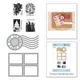 Christmas Postman Stamp and Die Set A Charming Christmas Collection by Becca Feeken