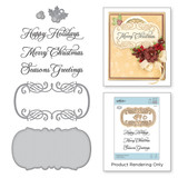 Sentimental Christmas Stamp and Die Set A Charming Christmas Collection by Becca Feeken