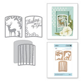 Shapeabilities Layered Thinking of You Woodland Scene Etched Dies Shadowbox by Becca Feeken