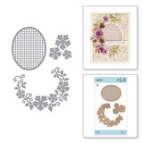 Shapeabilities Floral Oval Etched Dies Special Moments Collection by Marisa Job