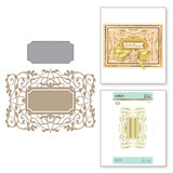 Gilded Vines Glimmer Hot Foil Plate The Gilded Age by Becca Feeken