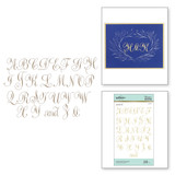 Copperplate Majuscules Glimmer Hot Foil Plate PA Scribe Collection