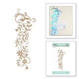 Vine Glimmer Hot Foil Plate Happy by Sharyn Sowell
