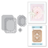 Shapeabilities Cannetille Rectangle Etched Dies Vintage Treasures by Becca Feeken