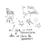 Life Sparkle Clear Stamp from Artomology by Jane Davenport