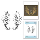 Flourish Frond Clear Stamp PA Scribe by Paul Antonio