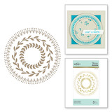 Circle Pattern Glimmer Hot Foil Plate