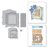 Shapeabilities Grand Holiday Cabinet Etched Dies 3D Holiday Vignettes Collection by Becca Feeken