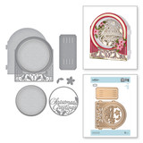 Shapeabilities Grand Snow Globe Etched Dies 3D Holiday Vignettes Collection by Becca Feeken