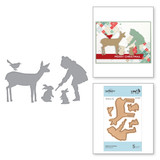 Shapeabilities Winter Friends Etched Dies Sharyn Sowell Holiday Traditions
