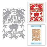Shapeabilities Love Came Down Etched Dies Sharyn Sowell Holiday Traditions