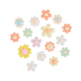 Confectionary Blooms Acrylic Flowers