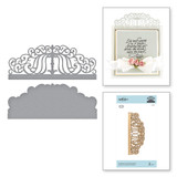 Candlewick Colonnade Border Etched Dies Candlewick Sampler Collection by Becca Feeken
