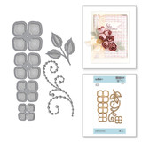 Candlewick Rosebud Etched Dies Candlewick Sampler Collection by Becca Feeken