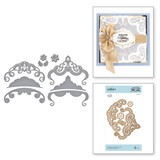 Candlewick Edged Corners Etched Dies Candlewick Sampler Collection by Becca Feeken