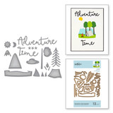 Adventure Time Snapshots Etched Dies Scenic Snapshots Collection