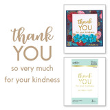 Thank You Combo Glimmer Hot Foil Plate