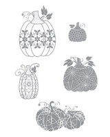 Martha's Pumpkins Stamp Set