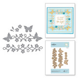 Die D-Lites Butterfly Frame-A-Long Etched Dies