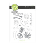 Deck the Palms Clear Stamp Set