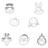 Holiday Clips Stamp Set