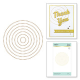 Essential Glimmer Circles Hot Foil Plates