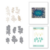 Organic Foliage Glimmer Hot Foil Plate & Die Set from Foil Basics by Yana Smakula