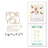 Especially For You Glimmer Hot Foil Plate & Die Set