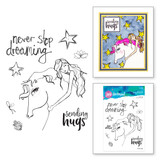 Horse Hug Clear Stamp Set from Whimsical and Wild Collection by Jane Davenport