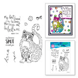 Best Leopard Clear Stamp Set from Whimsical and Wild Collection by Jane Davenport