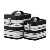 Journey Stamp Storage Black & White Stripe