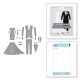 Wedding Dress & Tux Etched Dies Wedding Season by Nichol Spohr