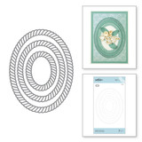 Elegant Twist Ovals Etched Dies Elegant Twist Collection from Amazing Paper Grace by Becca Feeken