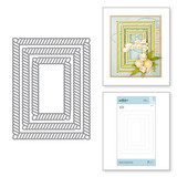 Elegant Twist Rectangles Etched Dies Elegant Twist Collection from Amazing Paper Grace by Becca Feeken