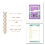 Elegant Twist Glimmer Borders and Sentiments Glimmer Hot Foil Plates Elegant Twist Collection from Amazing Paper Grace by Becca Feeken