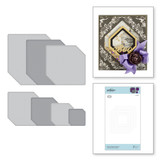 Nestabilities Nested Clipped Squares Etched Dies Halloween Collection from Amazing Paper Grace by Becca Feeken