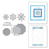Snowflake Splendor Etched Dies Christmas Cascade Collection from Amazing Paper Grace by Becca Feeken