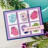 Smitten for Mittens Clear Photopolymer Stamp Set