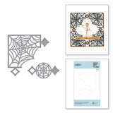 Spider Web Corners Card Creator Etched Dies from Halloween 2020 Collection