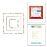 Christmas Essential Glimmer Squares Glimmer Hot Foil Plate from Sparkling Christmas Collection